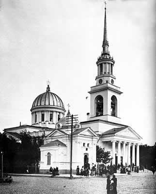 Кронштадт. Андреевский собор.