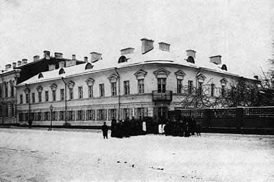 Кронштадт. Дом причта Андреевского собора