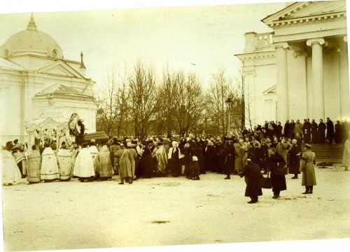 03.1 Похороны Ионна Кроншадского (почил 20 дек. 1909г.)