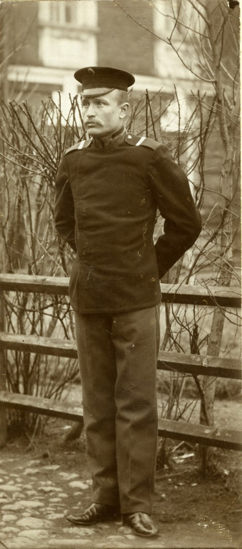 06. Кирилл Бынин. Снято 1908г.Весной.Крепость Кронштатд