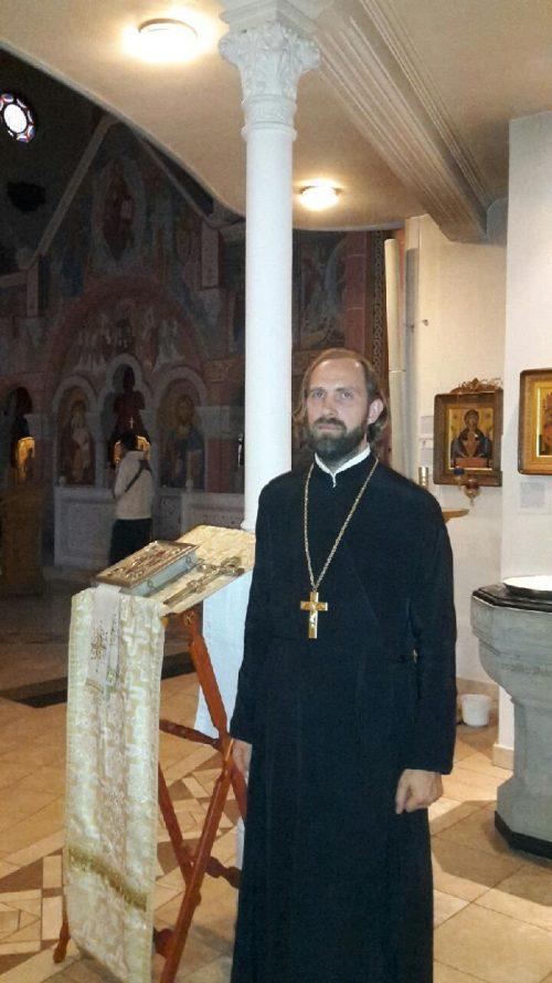 Священник Дионисий Идавайн