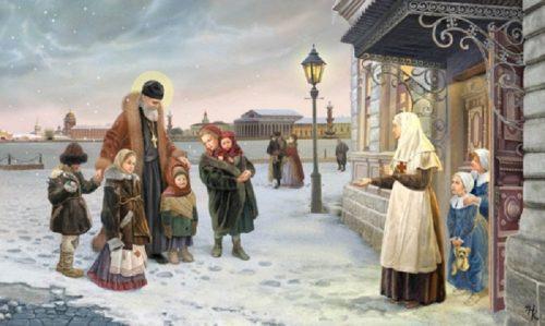 sv-ioann-kronshtadtskij-privodit-bezdomnyx-detej-v-priyut