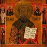 Святитель Николай Чудотворец. Икона храма св. прав. Иоанна Кронштадтского