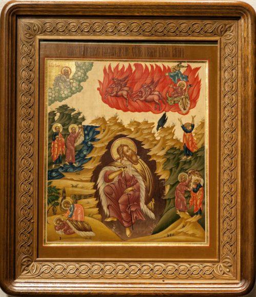 Святой пророк Илия. Икона храма св. прав. Иоанна Кронштадтского в Гамбурге