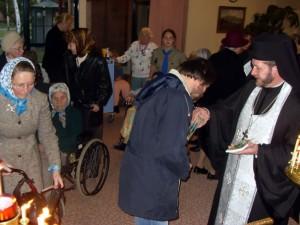 Часовня св. прав. Иоанна Кронштадтского в доме престарелых в Австралии