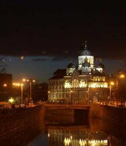 Свято-Иоанновский монастырь на реке Карповка