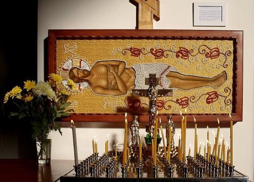 Bildnis Liegender Christus