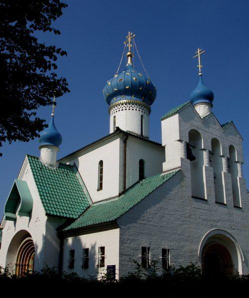 Храм св. Прокопия Устюжского в Гамбурге