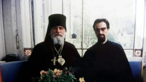 Владыка Филофей и отец Константин Ериш (60-е годы)