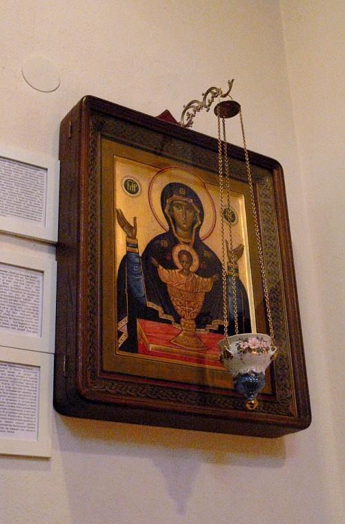 Ikone 'Maria mit Kind'