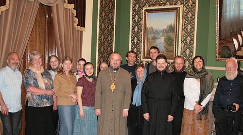 В Архангельске у архиепископа Тихона