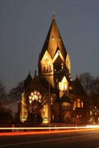 Храм в Гамбурге. Фотография Дмитрия Мазура