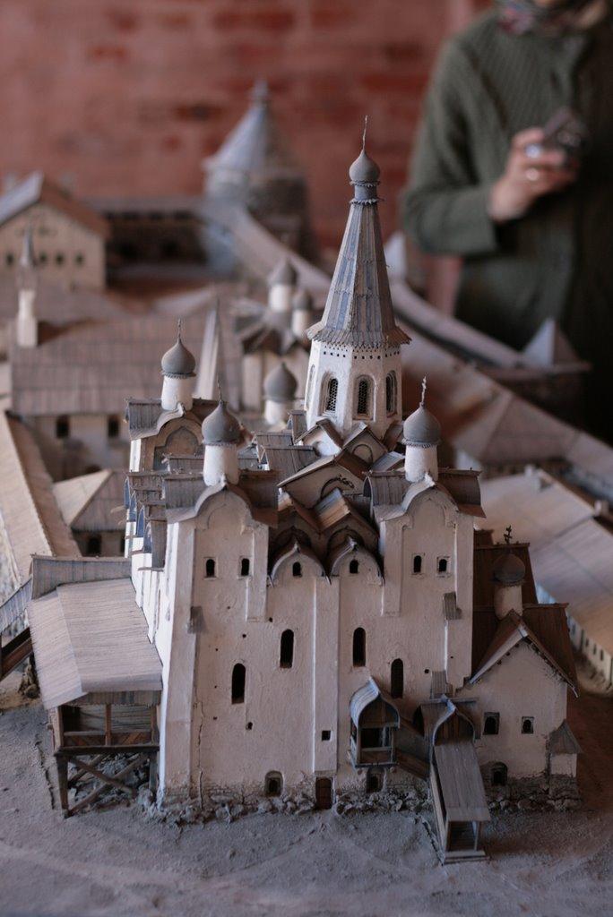 Модель Соловецкого монастыря
