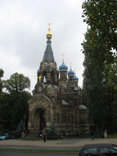 Православный храм в Дрездене