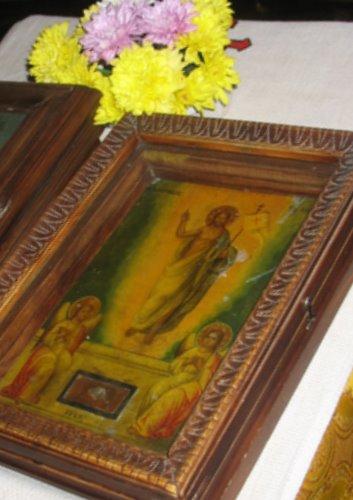 Икона с частицей Гроба Господня