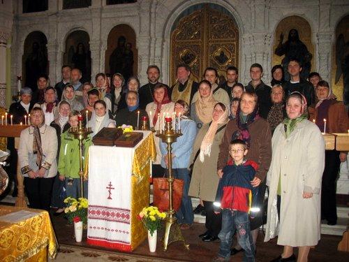 Прихожане храма св. праведного Иоанна Кронштадтского в Гамбурге в гостях у общины в Дрездене