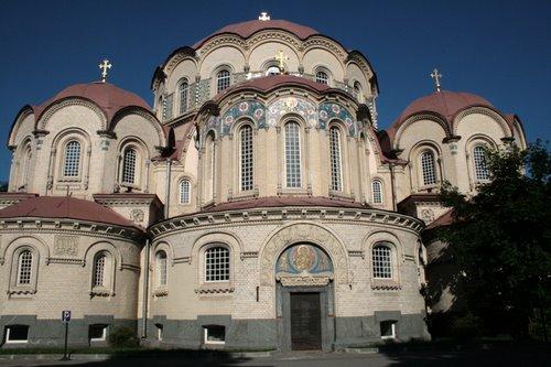 Новодевичий монастырь. Казанская церковь.