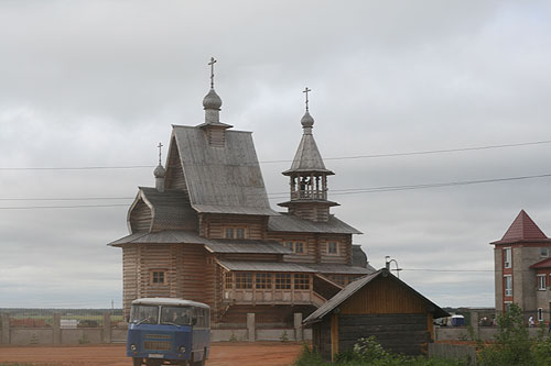 Карпогоры. Храм святых апостолов Петра и Павла