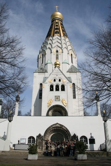 Храм-памятник Русской Славы в Лейпциге