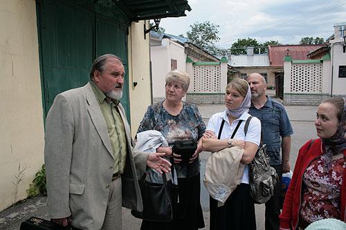Иван Николаевич рассказывает о монастыре