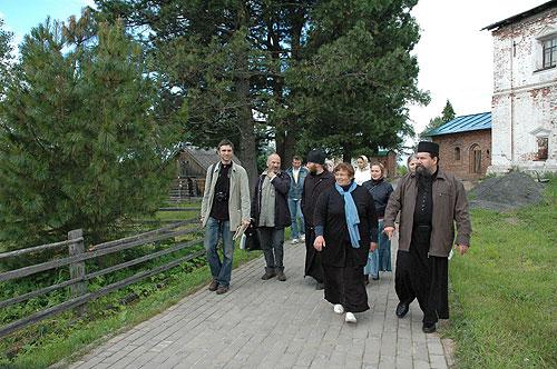 В Сийском монастыре